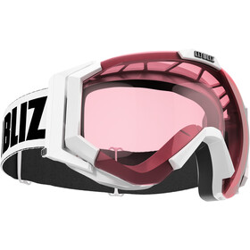 Bliz Carver Gafas, white-black/pink